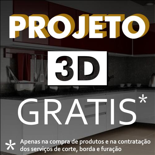 Projeto 3D Grátis para armários e moveis em MDF